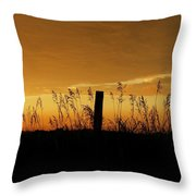 Atchison Sunset Throw Pillow