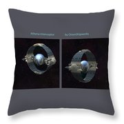 Athena Interceptor Throw Pillow