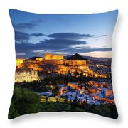 athens 'CXIV Throw Pillow