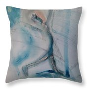 Athlete Throw Pillow by Gregory Dallum