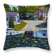 Atigamayg And Evalina Throw Pillow