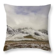 Atigun Pass Brooks Range Alaska Throw Pillow