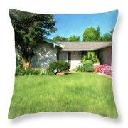 Atlanta 50 Throw Pillow