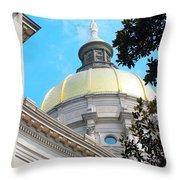 Atlanta Capital Throw Pillow