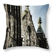 Atlanta Church Throw Pillow