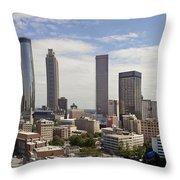 Atlanta Georgia Throw Pillow