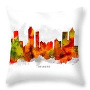 Atlanta Georgia Cityscape 15 Throw Pillow