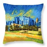Atlanta Georgia Skyline 15 Throw Pillow