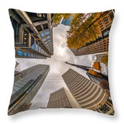 Atlanta - Georgia - Usa Throw Pillow