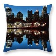 Atlanta Reflects Throw Pillow