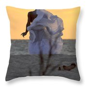 Atlante Throw Pillow