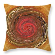 Atlantean Fire Throw Pillow