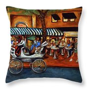 Atlantic Avenue Throw Pillow