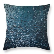 Atlantic Big Throw Pillow