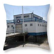 Atlantic City Beach Patrol Throw Pillow