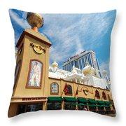 Atlantic City Throw Pillow