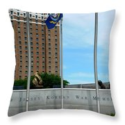 Atlantic City Series -11 Throw Pillow