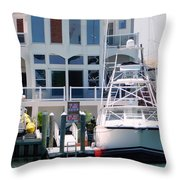 Atlantic City Series -13 Throw Pillow