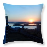 Atlantic City Series -14 Throw Pillow