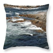 Atlantic Throw Pillow