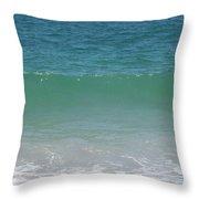 Atlantic Ocean - Southampton New York Throw Pillow