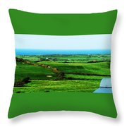 Atlantic View Doolin Ireland Throw Pillow