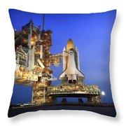 Atlantis At Sunset Throw Pillow