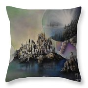 Atlantis Resurrected Throw Pillow