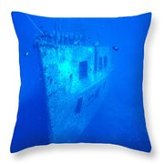 Atlantis Wreck Throw Pillow