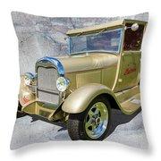 Atlas Pickup V2 Throw Pillow