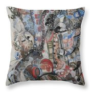 Atman Throw Pillow