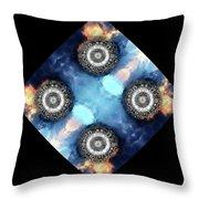 atmoSPHERE Fractal 11 Throw Pillow