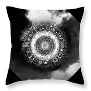 atmoSPHERE Fractal 8 Throw Pillow