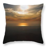 Atmosphere Vibes Throw Pillow