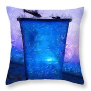 Atomic Ant - Pa Throw Pillow