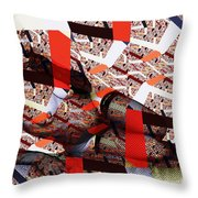 Atomic Link Pinup Throw Pillow