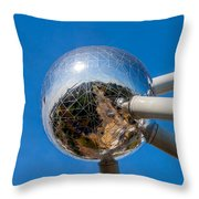 Atomium Throw Pillow