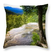 Atop Falling Spring Fall Throw Pillow