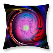 Atrium Abstract - Perfection Akt Throw Pillow