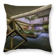 Atrium - Syracuse Ny Throw Pillow