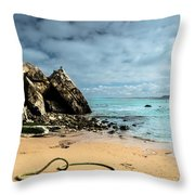 Attached To The Boat Throw Pillow