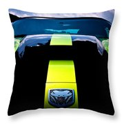 Attack Of The Viper Throw Pillow