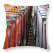 Attention Shoppers...lol Throw Pillow