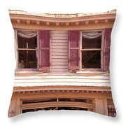 Attic Antiques And Things Throw Pillow
