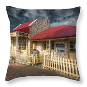 Attic House Throw Pillow