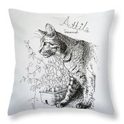Attila Throw Pillow