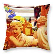 Attitude Baby Throw Pillow