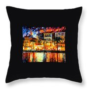 Attractive Corsica Throw Pillow