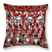 Auburn College Band Throw Pillow