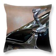 1931 Auburn Hood Ornament Throw Pillow